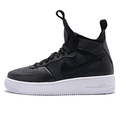 online retailer 1170f e95da Nike W Air Force 1 Ultraforce Mid Womens 864025-005 Size 6 Black/Black-White