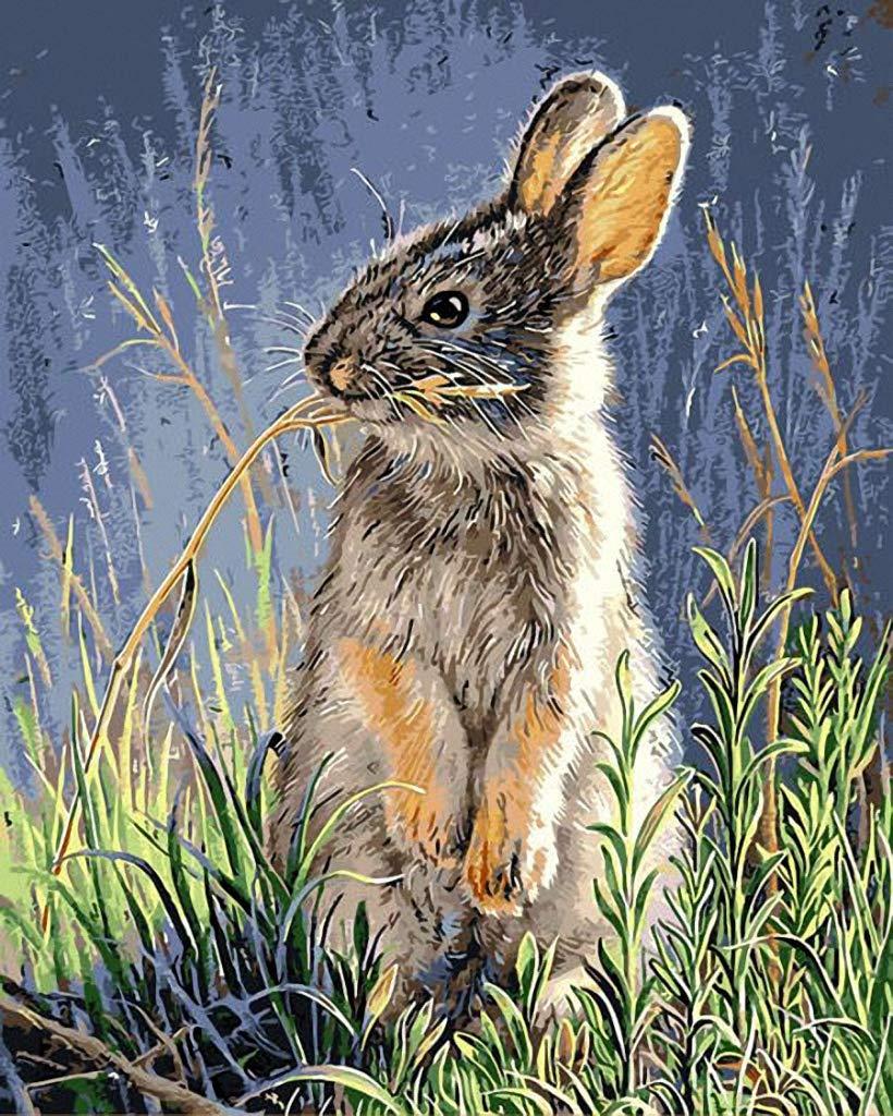 10CT Penelope,14 X 18 Vivid Portrait for A Little Brown Bunny Needlepoint Canvas A00598