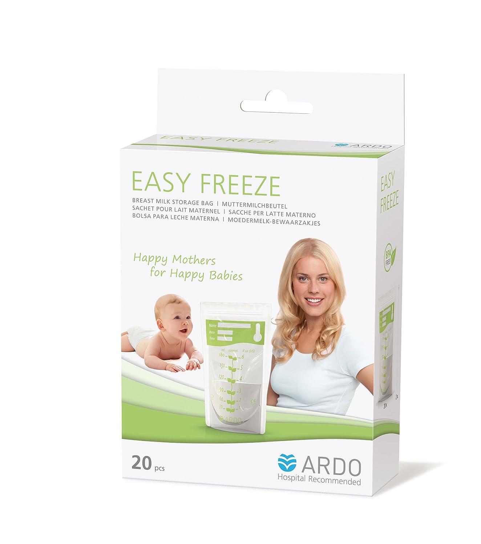 transparent ARDO Le sac pour lait maternelEasyFreeze accessoires dallaitement