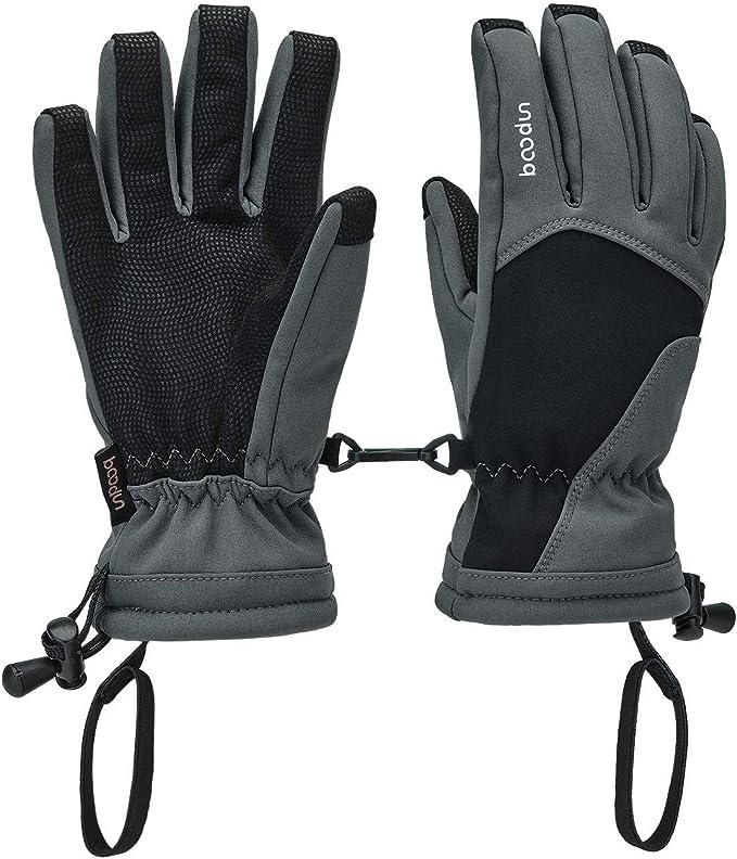 XINMINGREN Skihandschuhe Kinder Warme Winter Handschuhe Wasserdichte Winddichte Schneehandschuhe Unisex Kinder Outdoor Sport Handschuhe f/ür 5-8 Jahre