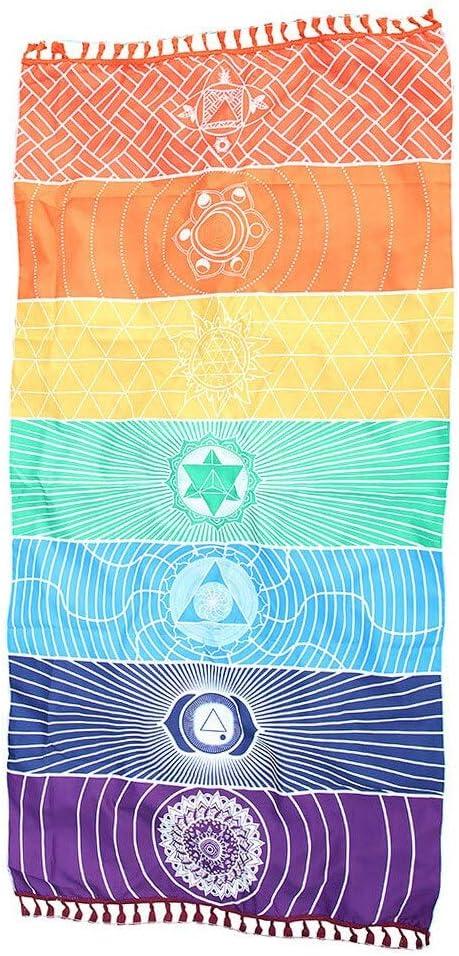 Ushixishiq Una Mejor Calidad de algodón de Bohemia India Mandala 7 ...
