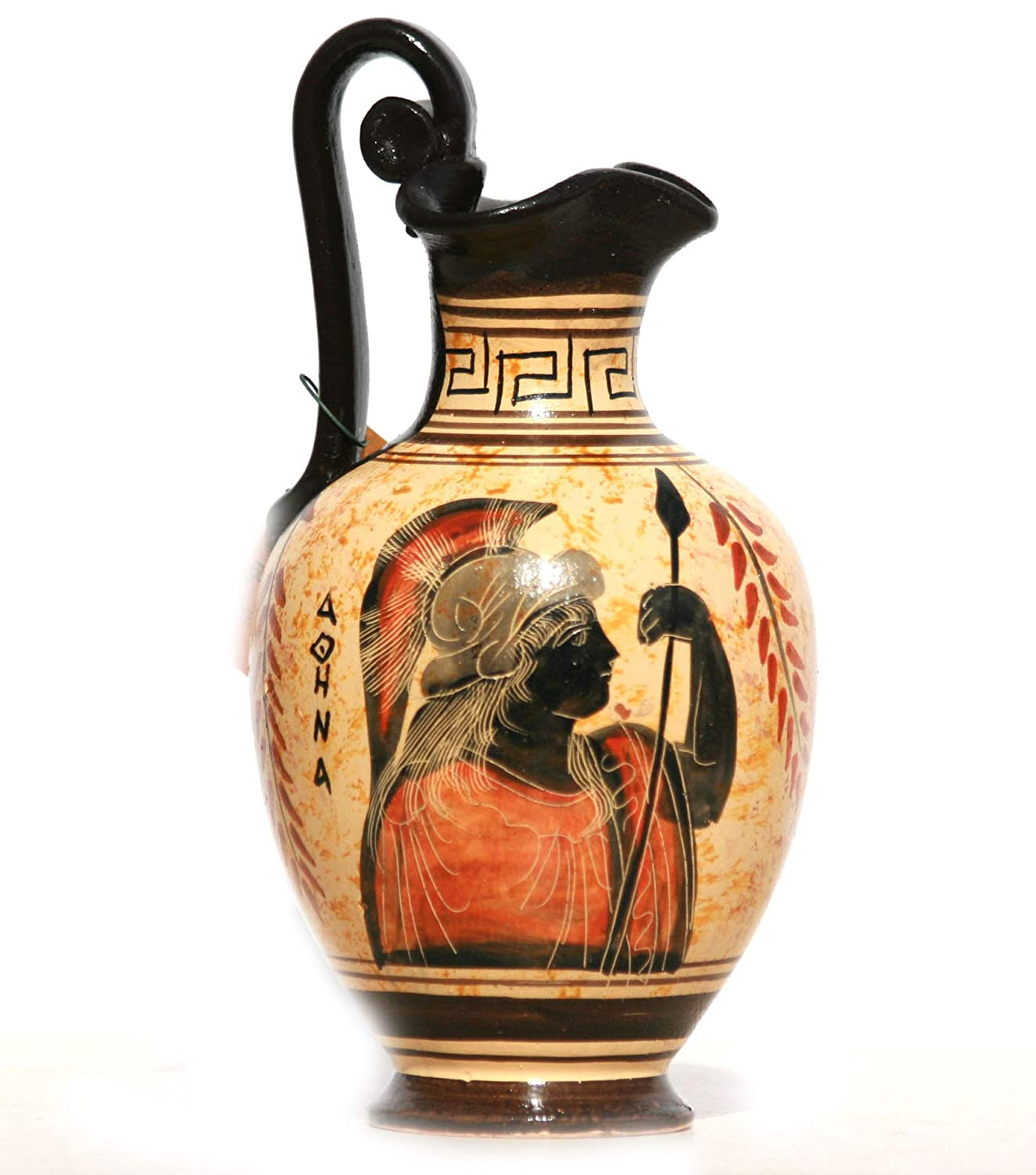Greek Black-Figure Ceramic Vase