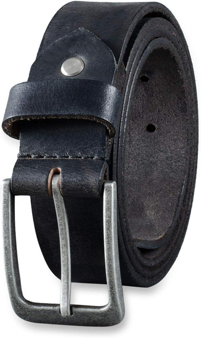 Gürtel Ledergürtel 2cm breit 100/% echt Leder Damen Herren Büffelleder konjak Neu