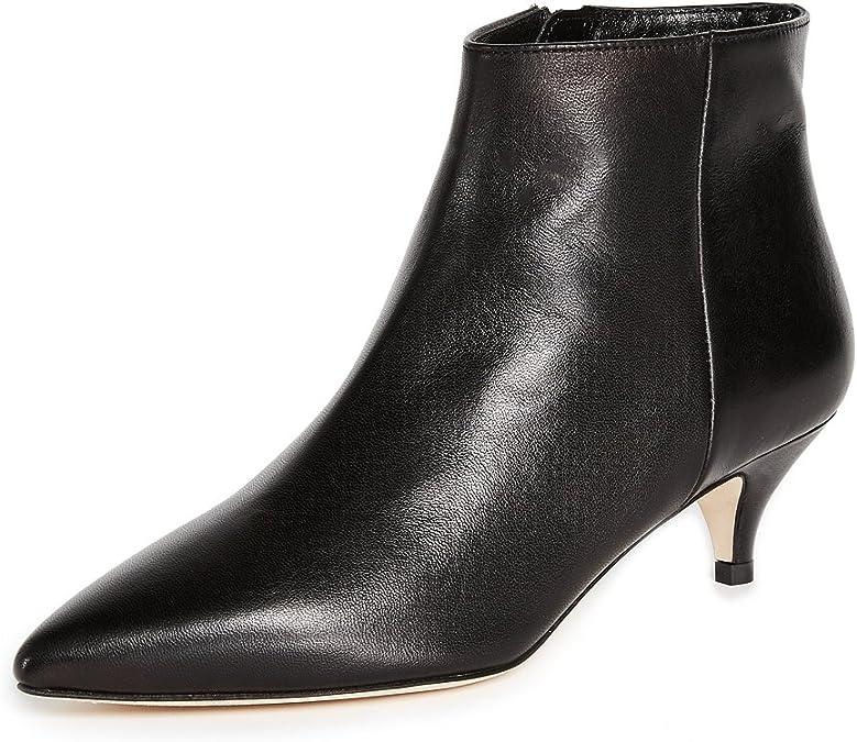 Kitten Heel Boots Black