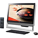日本電気 LAVIE Desk All-in-one - DA370/CAB ファインブラック PC-DA370CAB