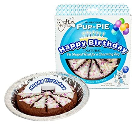 Lazy Dog Cookie Company Original Pup PIE Treat Happy Birthday Cake For A