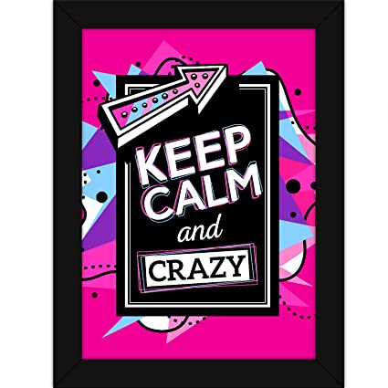 Funny Posters Quotes with Frames for Room and Home Decor - Quirky ...