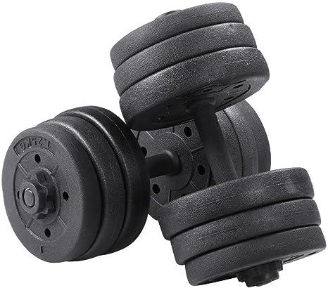 Juego de 2 Juego de 2 tr/íceps LLS Juego de 2 Pesas de 7,5 K de 7,5 kg 7,5 kg 7,5 kg Hecho de Goma Peso 7,5 cm
