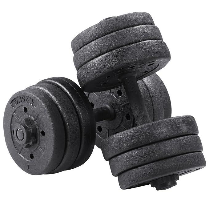 20 kg juego de mancuernas pesas gimnasio Fitness Biceps ...