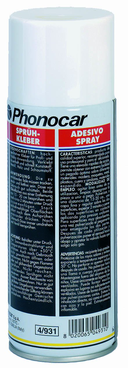 Phonocar 4/931 colla Spray per moquette 04931 B004WOE2NG