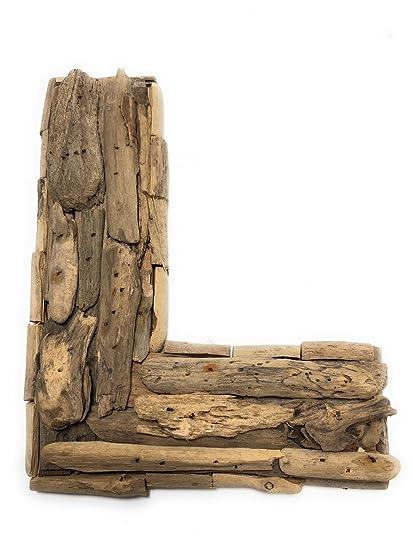 Amazon Com Tikimaster L Driftwood Letter 10 Home Decor Rustic