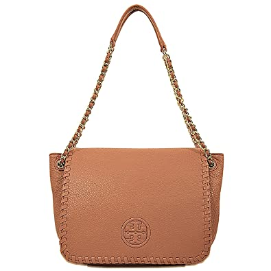 Tory Burch Marion Small Flap Shoulder Bag Bark  Handbags  Amazon.com e188a7980