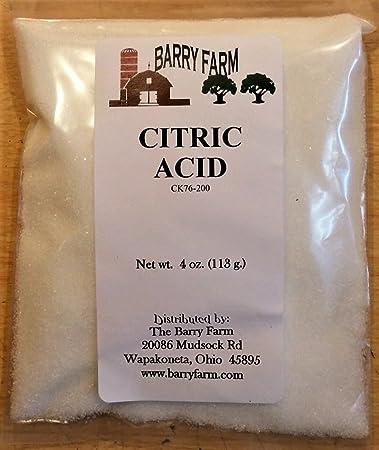 Citric Acid, 4 oz