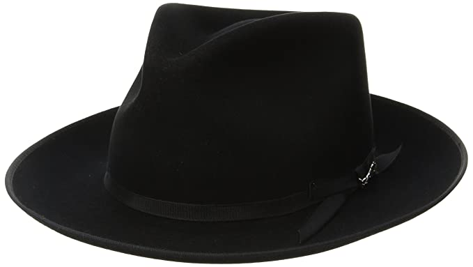 1d390e828cf Stetson Men s Stratoliner Royal Quality Fur Felt Hat at Amazon Men s ...