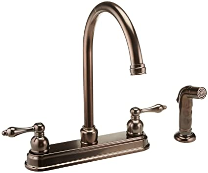 Hardware House 122672 Kitchen Faucet Oil Rubbed Bronze Touch On