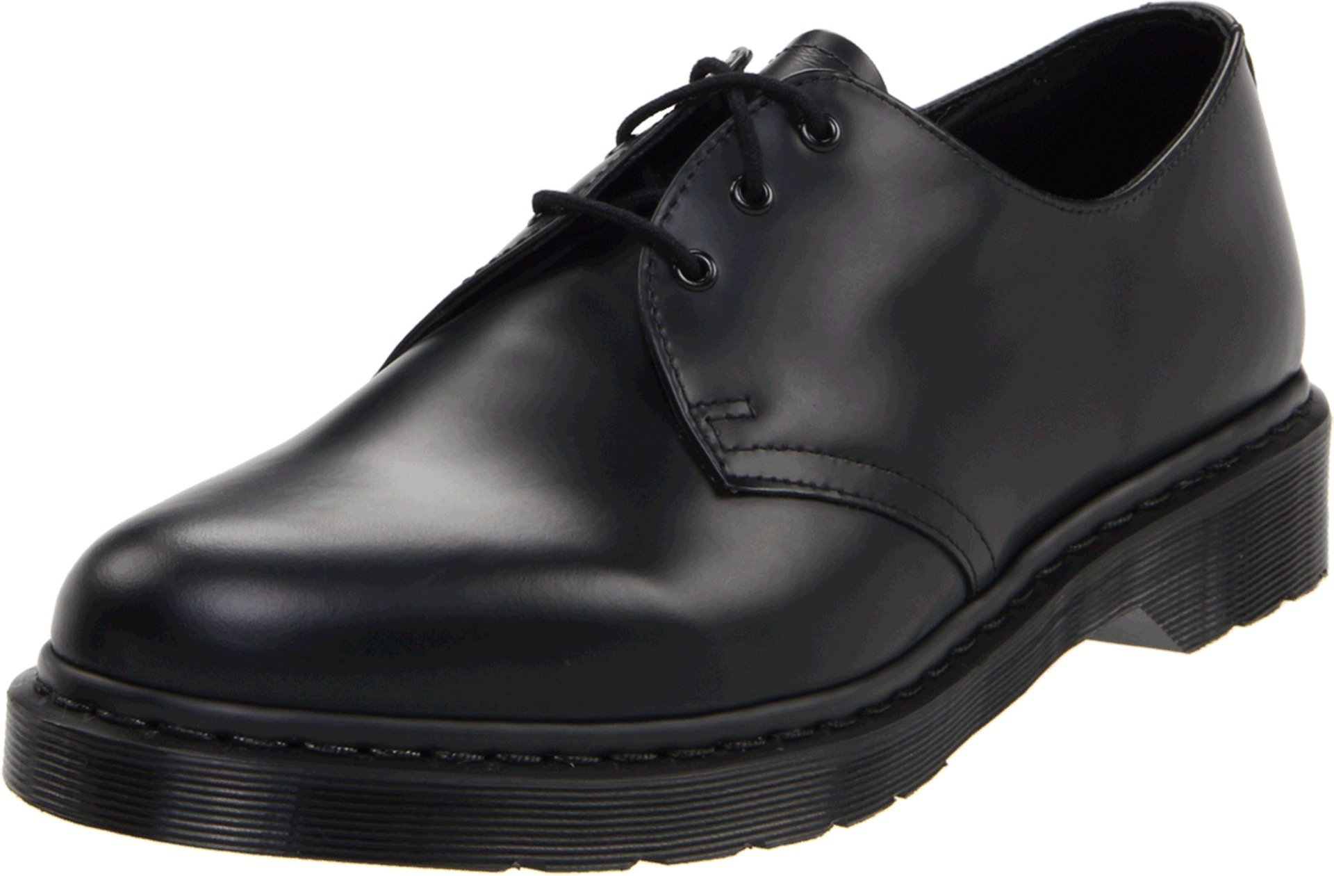 Dr. Martens 1461 Shoe,Black Smooth,8 UK/9 M US