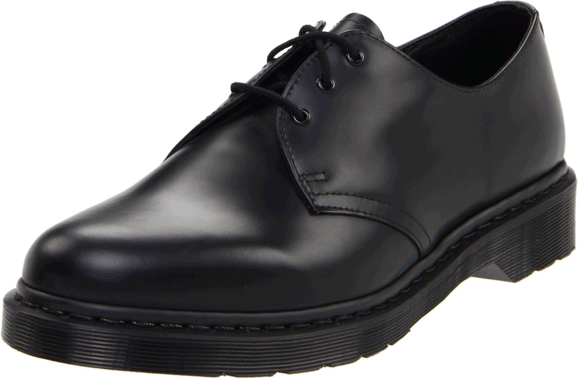 Dr. Martens 1461 Shoe,Black Smooth,9 UK/10 M US