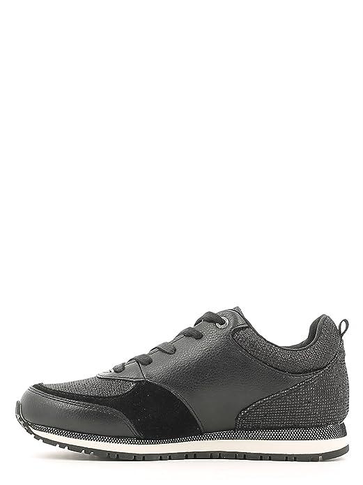 Guess Flree3 Lea12 Zapatillas Mujer Negro, Talla 36