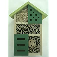 AU Bee & Insect House Habitat Tower Hotel Garden Nest for Native Solitary Bees Pollination Spring Summer