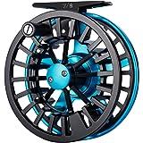 Piscifun Aoka Aluminum Fly Fishing Reel with Cork/Teflon Disc Drag System