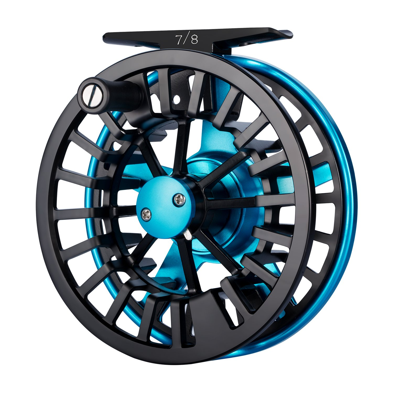 Piscifun Aoka Aluminum Fly Fishing Reel with Cork Teflon Disc Drag System