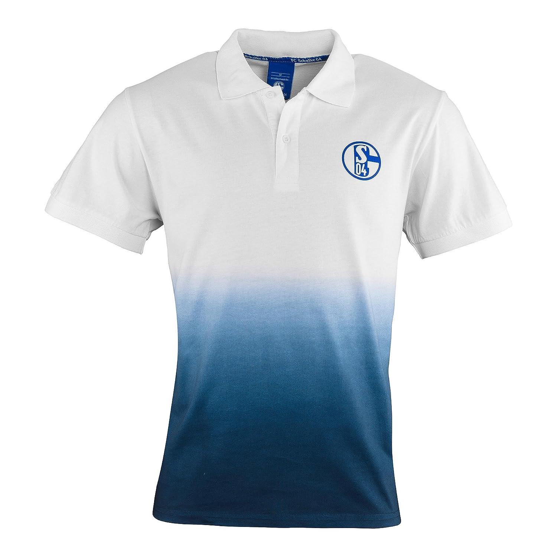 FC Schalke 04 Herren Polo-Shirt Verlauf