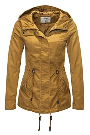 golden Taille Jacket Only Onllorca Veste Parka Spring l;couleur 8qpap0wn