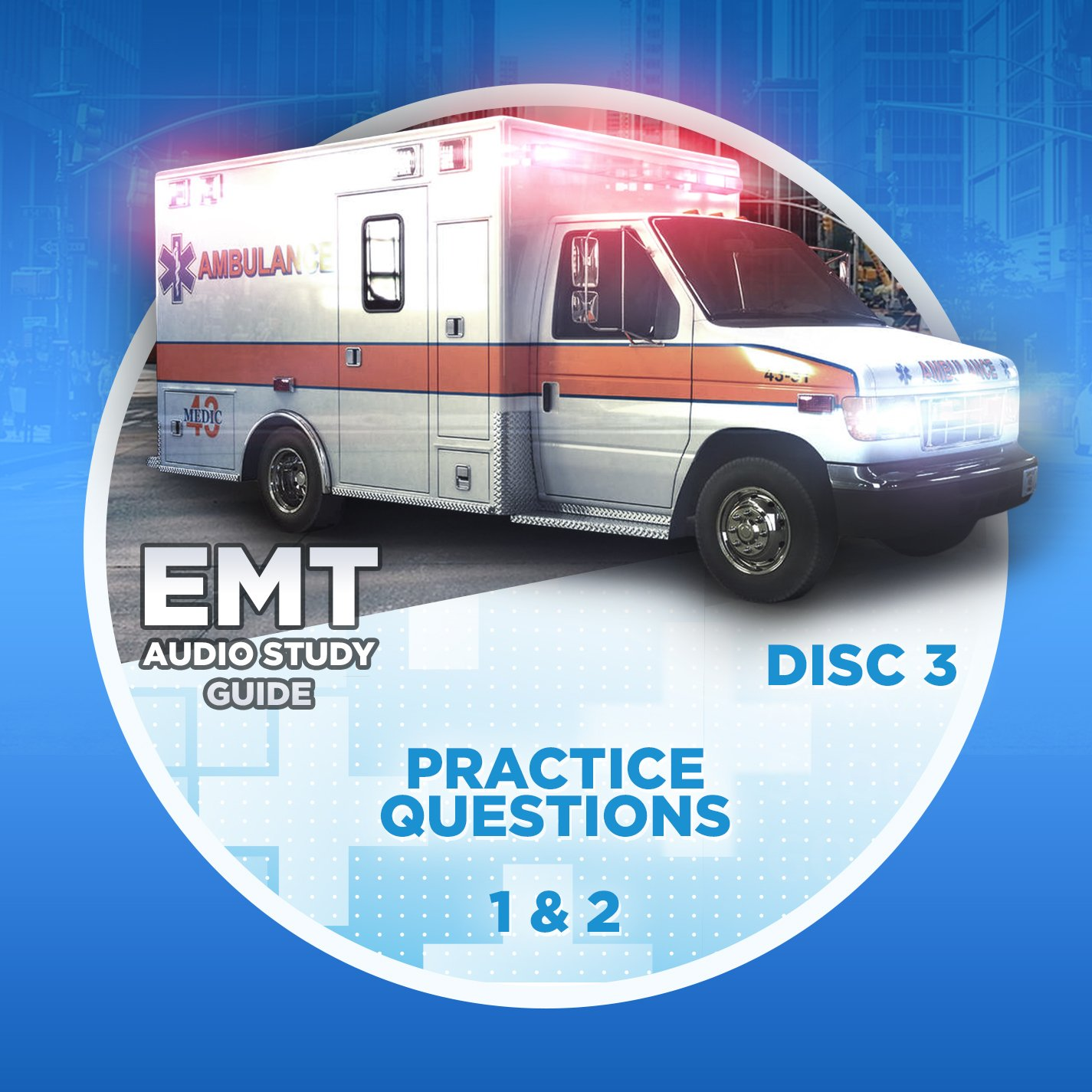 EMT STUDY GUIDE - EMT Basic Audio Study Guide - Perfect for Passing NREMT  Exam! Listen in Car or at Gym! EMT Study for Busy Students. 8 Lessons.