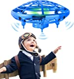 infinitoo Mini UFO Flying Ball Toys, Hand-Controlled Drone With 5 Infrared Sensors Kids Flying Toys for Boys and Girls…