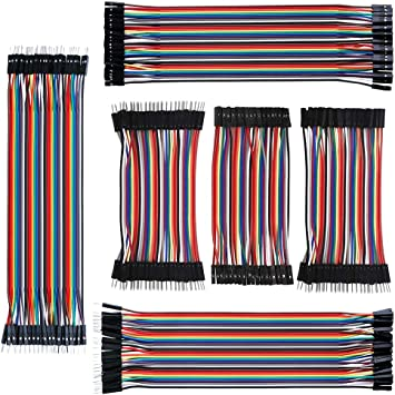 120Pcs Dupont 10cm Cable Jumper Wire Female-Male For Breadboard Arduino USA