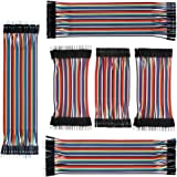 IZOKEE 240pcs 10CM and 20CM Jumper Wire Solderless Breadboard Jumper Wires Male to Female, Male to Male, Female to…
