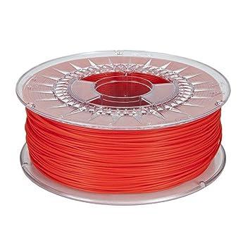 MadridGadgetStore® Filamento PLA 1.75 mm 1.75mm Rojo Ingeo 3D850 ...