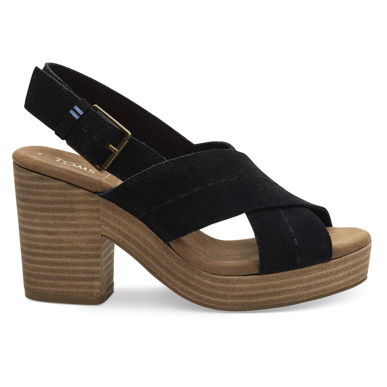 toms honey suede women's ibiza sandals