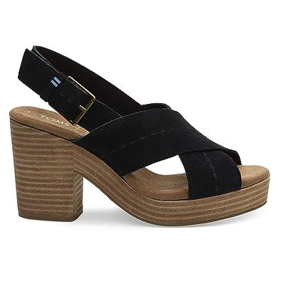Amazon.com: TOMS Ibiza Sandalia para mujer: Shoes