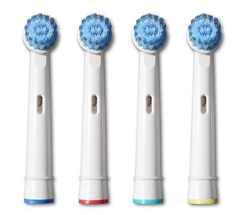 Cabezales de recambio para cepillo de dientes compatibles con Braun/Oral B: Amazon.es: Salud y cuidado personal