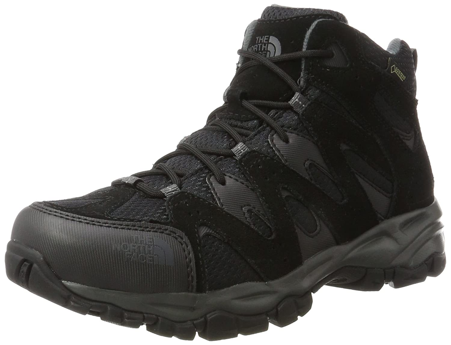 The North Face Storm Hike Mid Gore-Tex EU, Botas de Senderismo para Hombre 44.5 EU|Varios Colores (Tnf Black/Dark Shadow Grey)