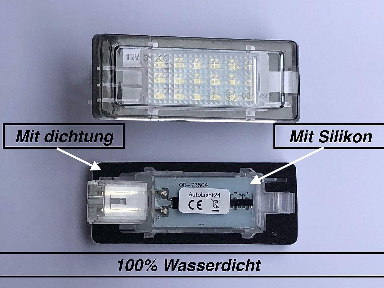 2 X Top Module 18 Smd Led Kennzeichenbeleuchtung Nummernschildbeleuchtung 73504 Auto