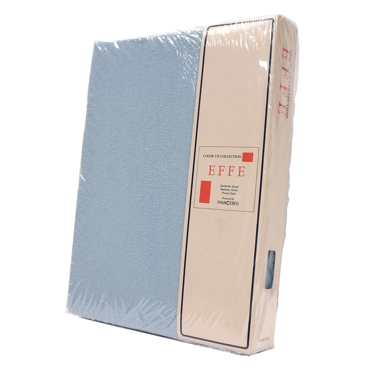 【送料無料】フランスベッド EFFE EMAXパイルマットレスカバー シングルロングサイズ サックス色 B07BHL9JKK