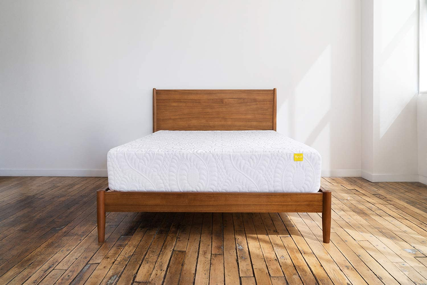 Revel Premium Cool Mattress (Twin XL), Featuring All Climate Cooling Gel Memory Foam and LiftTex Alternative Latex, Made in the USA with a 10-Year Warranty, Amazon Exclusive