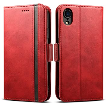 coque iphone 4 cuir rouge