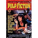 Pulp Fiction Movie Uma Thurman Retro Ad Poster Print - 24x36