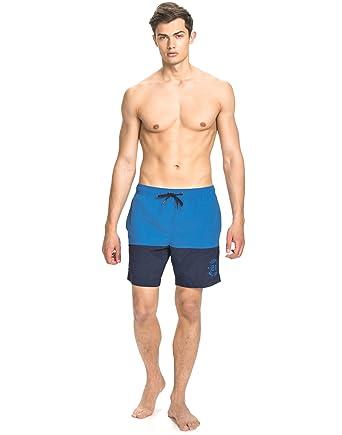Salming Underwear Men s Denman Long Swimshorts Blue Size X-Large 100%  Polyamide. Lining 11151a88993f5