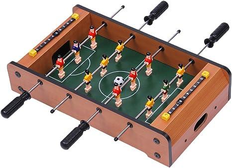 Excelvan xj6026 Mini mesa Futbolín Fútbol mesa de juego Kids Toy ...