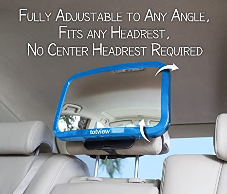 Baby Car Mirror With Adjustable Pivot
