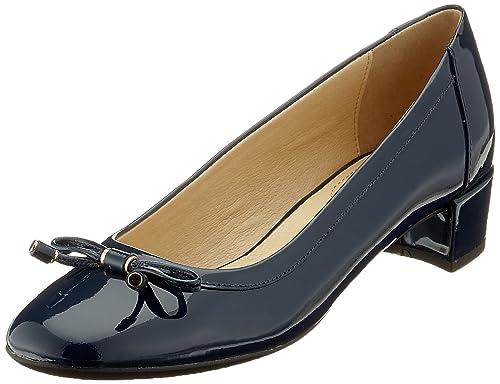 Geox D Carey D, Zapatos de Tacón para Mujer, Rosa (Skin), 36 EU