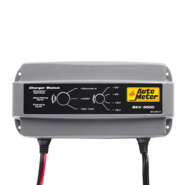 Amazon.com: AutoMeter BEX-5000 Battery Extender 6/8/12/16V 5 Amp ...