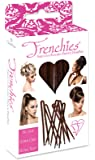 Frenchies Ultra Flocked Extra Soft French Twist Hair Pins: The French Hair Pins for Buns, Updo Hairstyles, Hair Extensions + Wigs - 20 Count Brown
