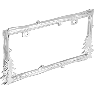 Bell Automotive 22-1-46520-8 Universal Cabin Country Design License Plate Frame: Automotive