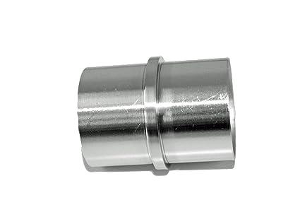 Acero inoxidable V2 A - Conector de Tubo con barra central ...