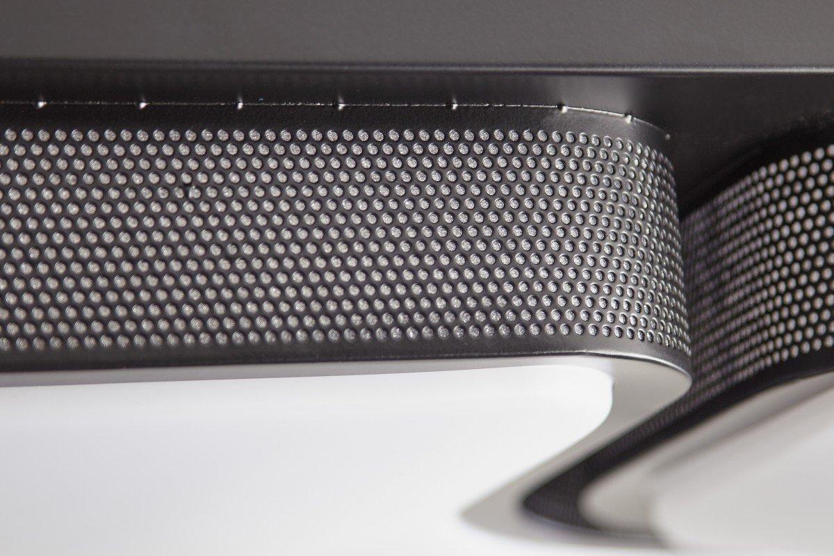 design lampe de plafond plafonnier led 32w noir geometric a 53x9x53cm lampe design 2720 lumens blanc chaud un mtal lger ayant 3 champs lumineux - Table De Cuisine Design2720
